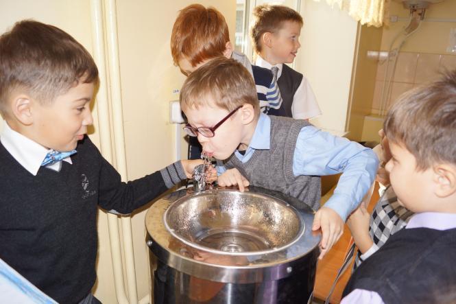 Очистка воды школа
