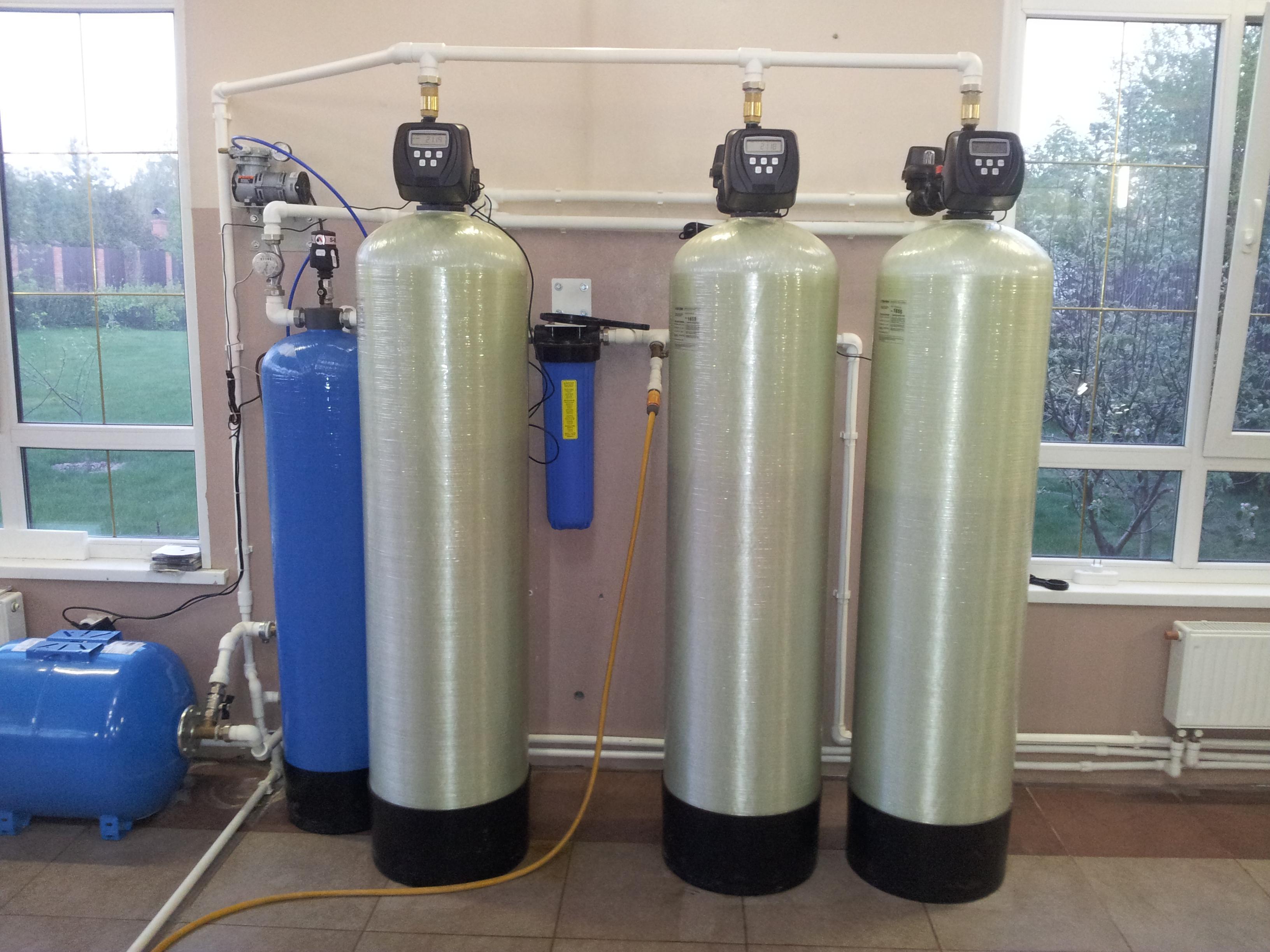 Основные способы очистки воды