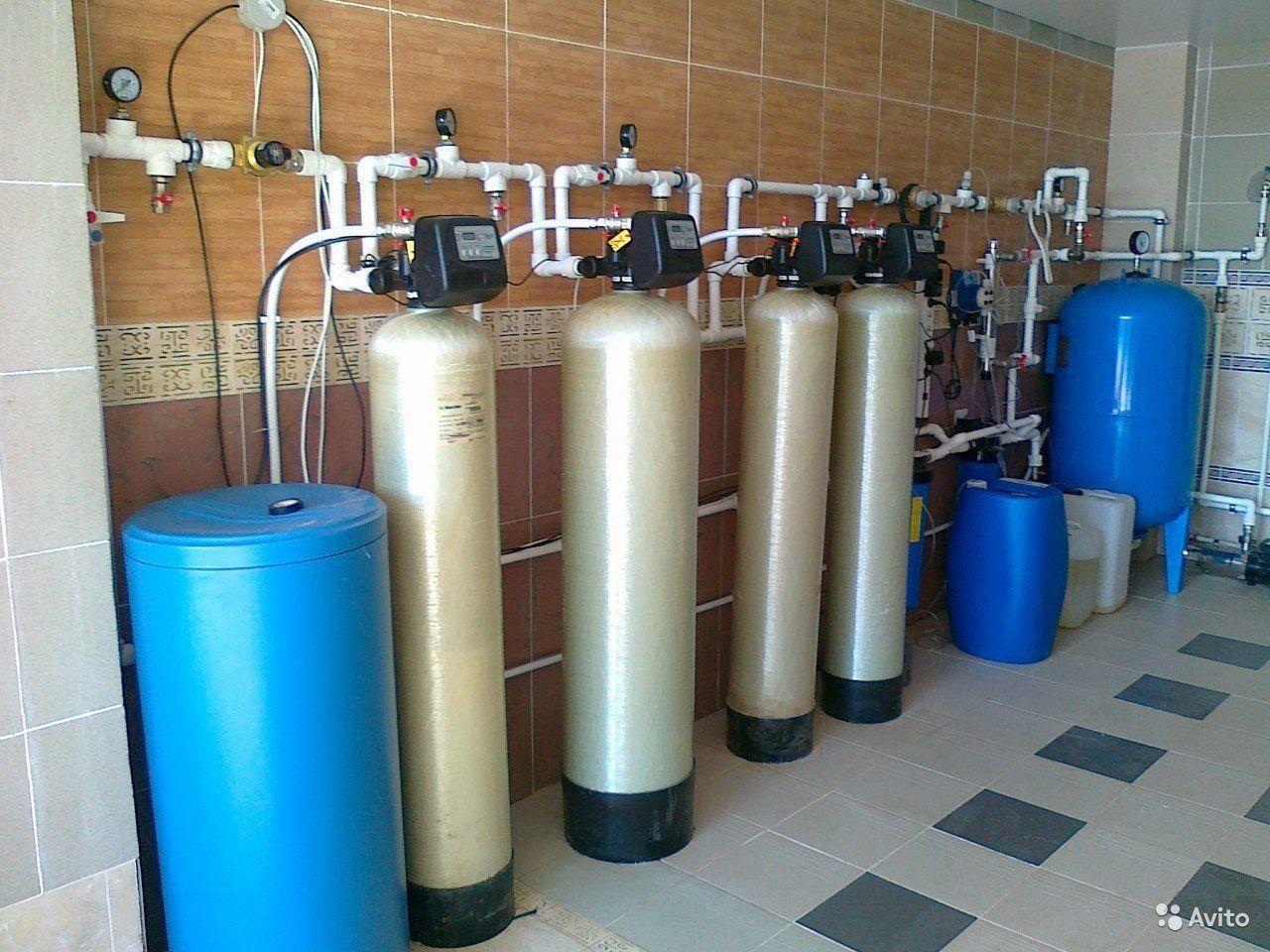 Профессиональная очистка воды
