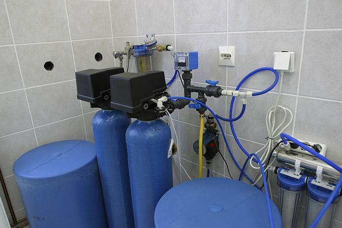 Расчет системы очистки воды