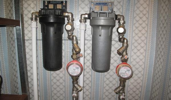 Система очистки холодной воды