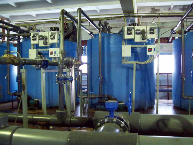 Система очистки воды озонированием