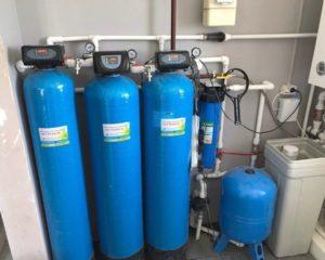 Чистая вода в п. Каскара